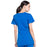 Cherokee Workwear Professionals WW685 Scrubs Top Maternity Mock Wrap Royal 3XL