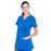 Cherokee Workwear Professionals WW685 Scrubs Top Maternity Mock Wrap Royal L