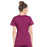 Cherokee Workwear Professionals WW685 Scrubs Top Maternity Mock Wrap Wine 3XL