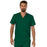 Cherokee Workwear Revolution WW690 Scrubs Top Men's V-Neck Hunter Green