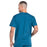 Cherokee Workwear Professionals WW695 Scrubs Top Men's V-Neck Caribbean Blue 3XL