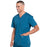 Cherokee Workwear Professionals WW695 Scrubs Top Men's V-Neck Caribbean Blue 4XL