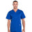 Cherokee Workwear Professionals WW695 Scrubs Top Men's V-Neck Galaxy Blue