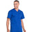 Cherokee Workwear Professionals WW695 Scrubs Top Men's V-Neck Galaxy Blue 5XL