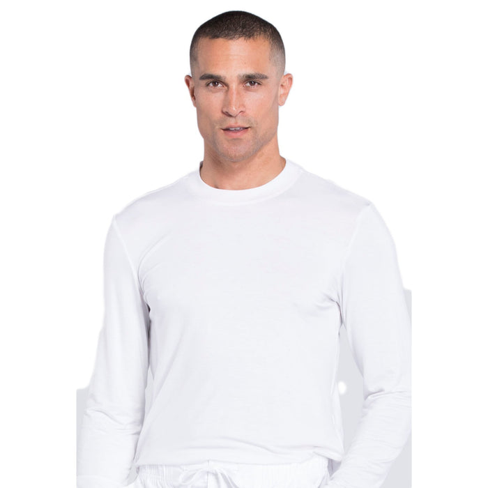 Cherokee Workwear Professionals WW700 Underscrubs Men's Knit White
