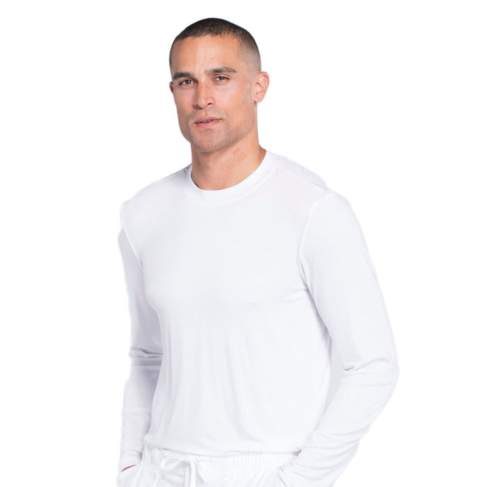 Cherokee Workwear Professionals WW700 Underscrubs Men's Knit White M