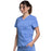 Cherokee Workwear Revolution WW710 Scrubs Top Women's V-Neck Ciel Blue L