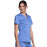 Cherokee Workwear Revolution WW710 Scrubs Top Women's V-Neck Ciel Blue M