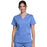 Cherokee Workwear Revolution WW710 Scrubs Top Women's V-Neck Ciel Blue