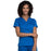 Cherokee Workwear Revolution WW710 Scrubs Top Women's V-Neck Royal