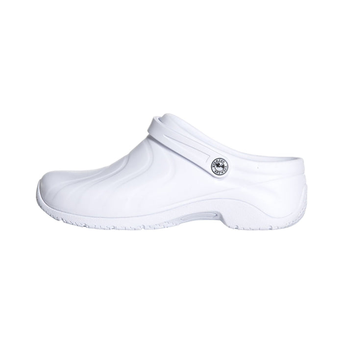 Anywear ZONE Footwear Women's Injected Clog w/Backstrap White