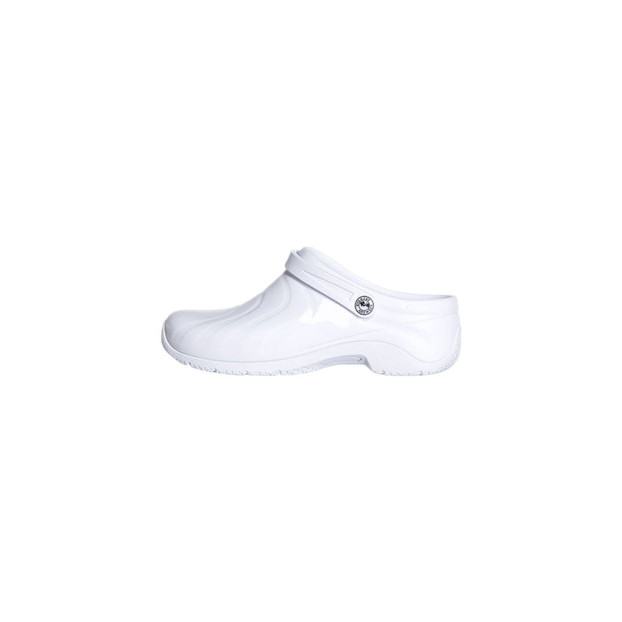 Anywear Footwear Zone Anywear Injected Clog w/Backstrap White Footwear