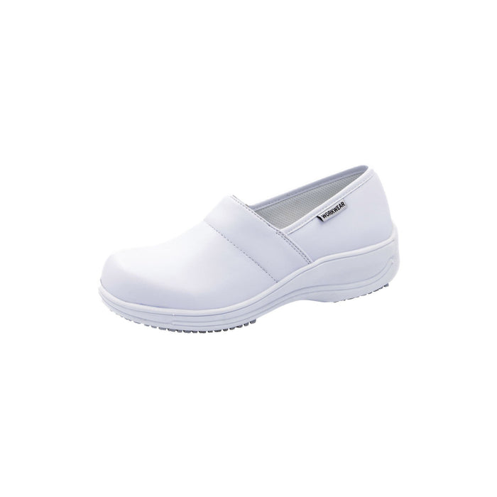Cherokee Workwear Footwear Footwear - Leather Step In White Footwear
