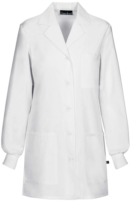 Cherokee 1362A Professional Whites with Certainty Lab Coats Traditional Classic White Lab Coats