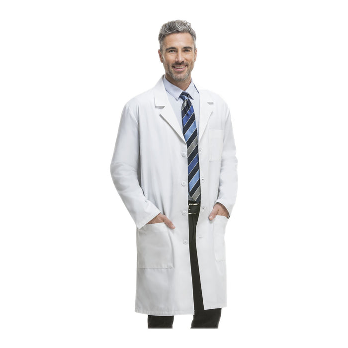 "Cherokee Lab Coats Professional Whites 40"" Unisex Lab Coat White Lab Coats"