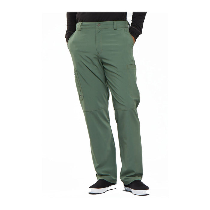 Cherokee Scrub Pants Infinity Men Fly Front Pant Olive Pant