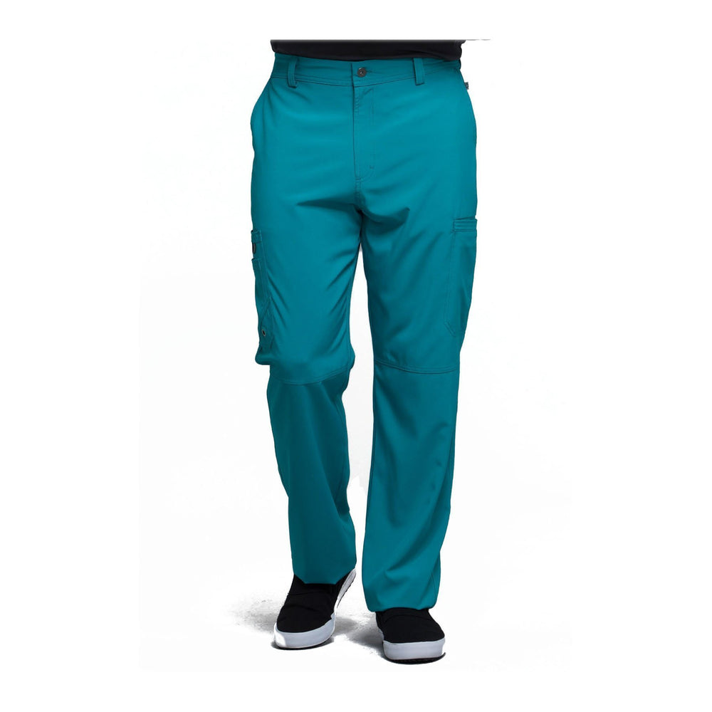 Cherokee Scrub Pants Infinity Men Fly Front Pant Teal Pant