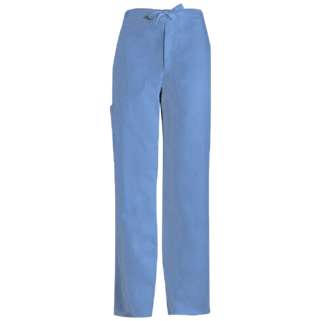 66faefae222 Cherokee Scrub Pants Luxe for Men Fly Front Drawstring Pant Ciel Pant