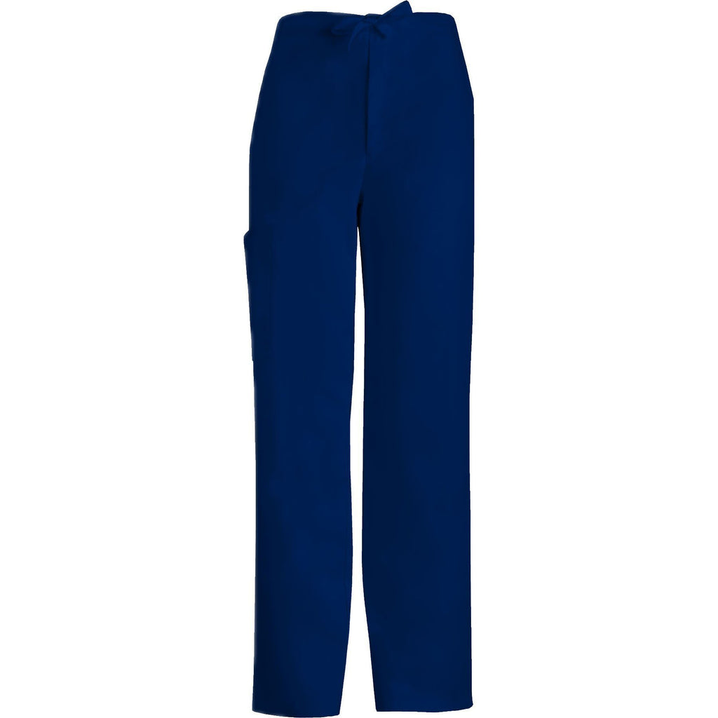 3adf0104f12 Cherokee Scrub Pants Luxe for Men Fly Front Drawstring Pant Navy Pant