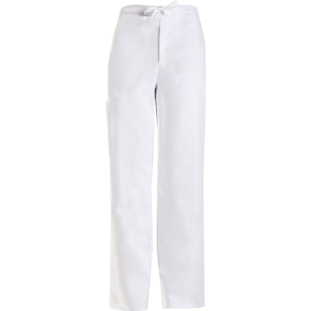 cca8295e95d Cherokee Scrub Pants Luxe for Men Fly Front Drawstring Pant White Pant