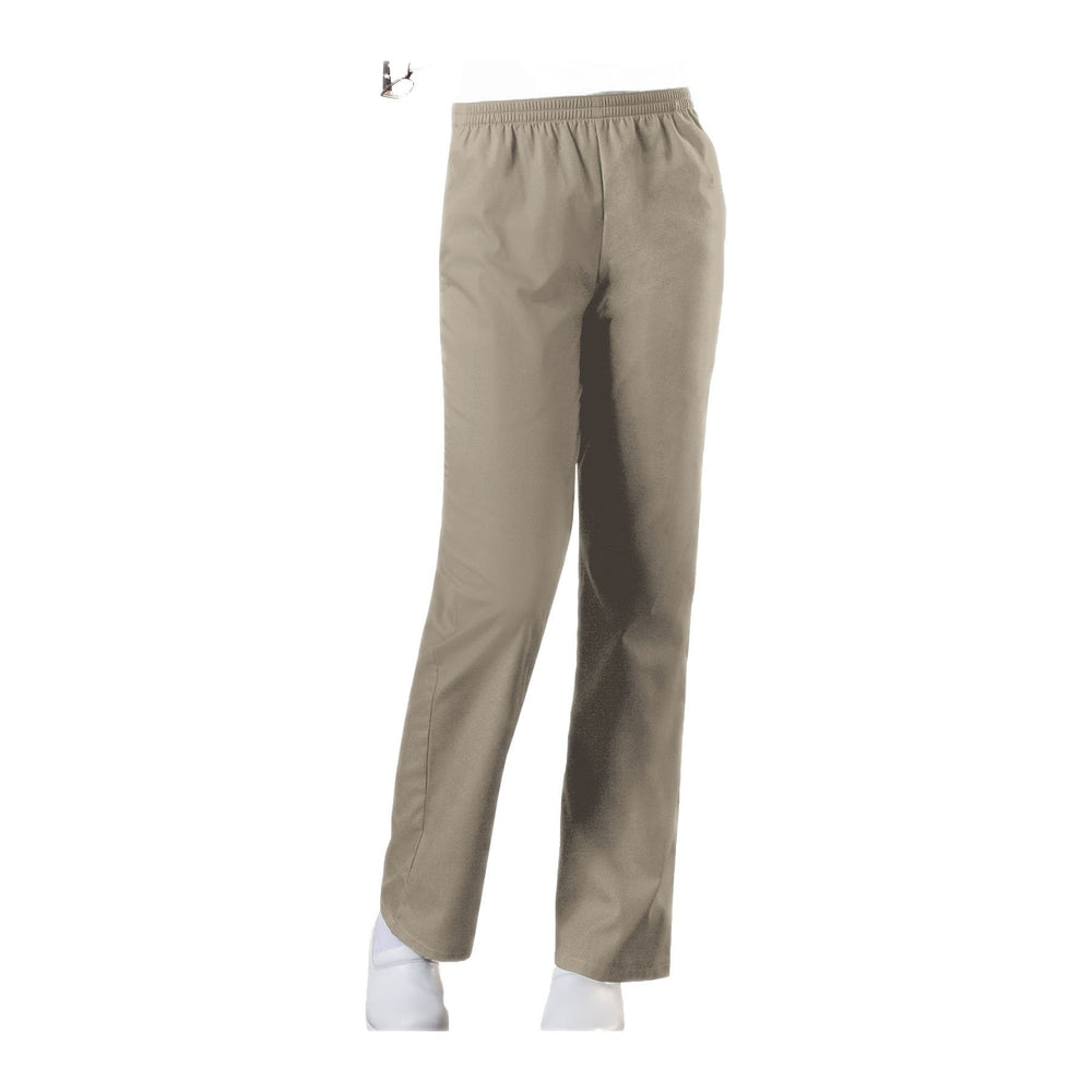Cherokee Workwear Pant WW Natural Rise Tapered Leg Pull-On Pant Khaki Pant