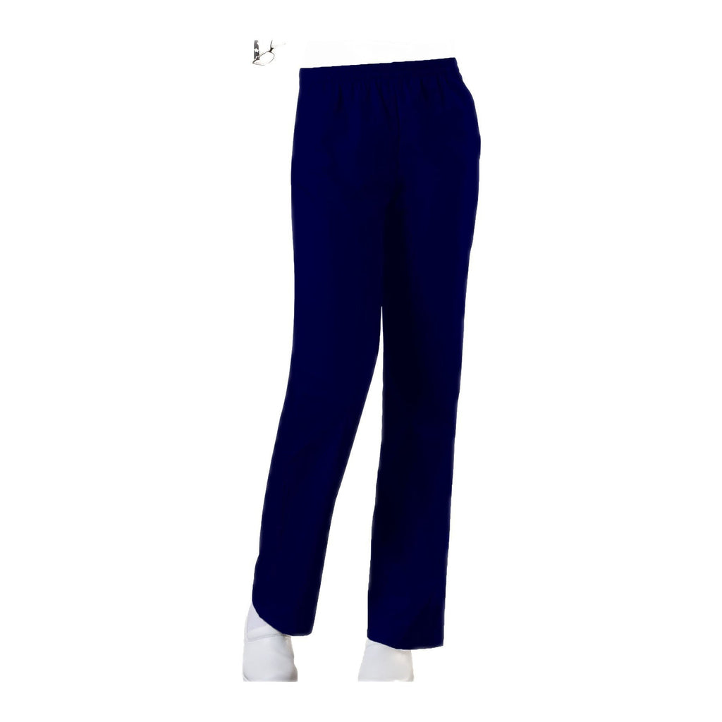 Cherokee Workwear Pant WW Natural Rise Tapered Leg Pull-On Pant Navy Pant