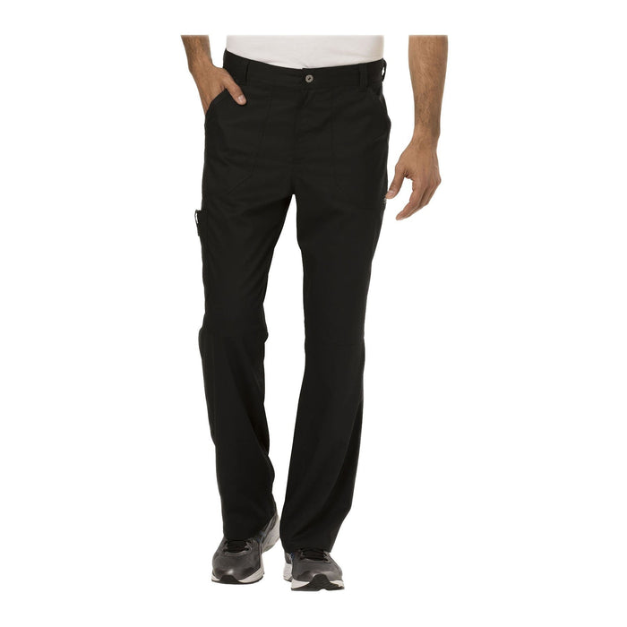Cherokee Workwear Pant WW Revolution Men's Men's Fly Front Pant Black Pant