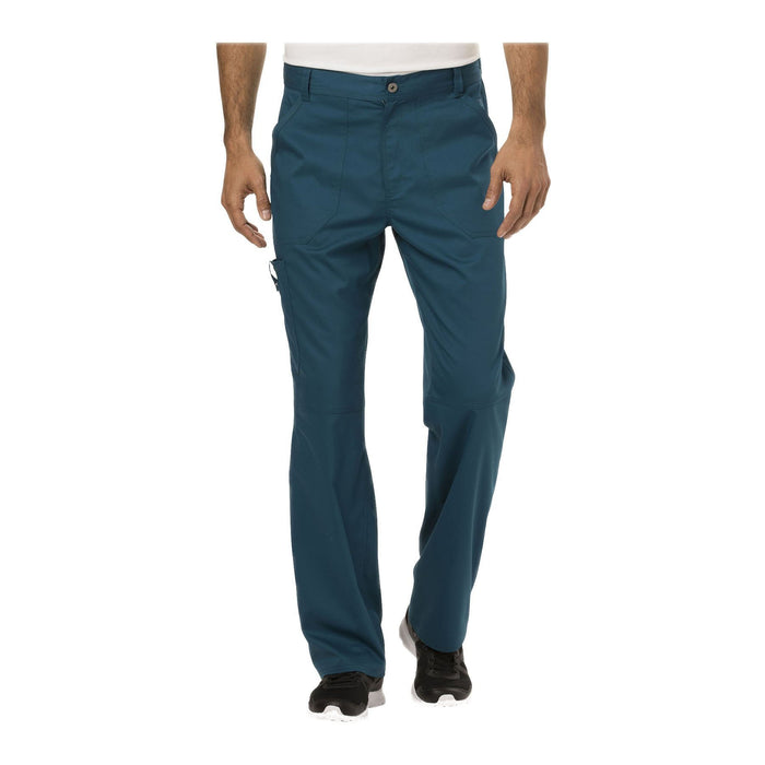 Cherokee Workwear Pant WW Revolution Men's Men's Fly Front Pant Caribbean Blue Pant