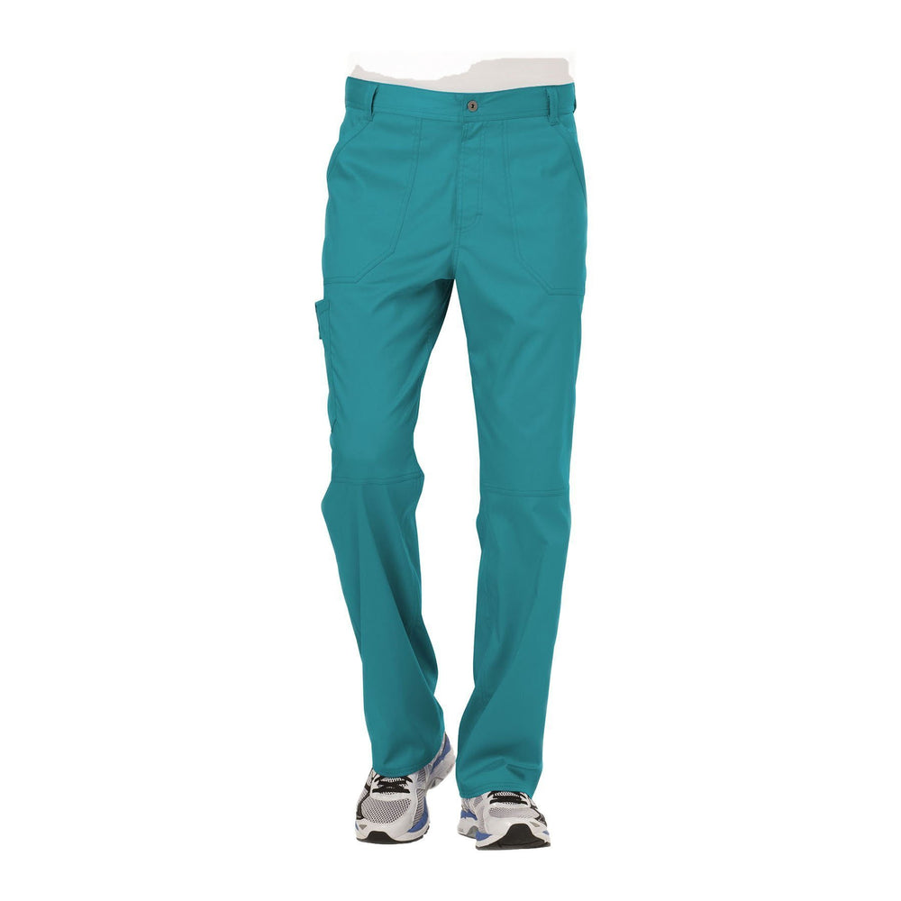 Cherokee Workwear Pant WW Revolution Men's Men's Fly Front Pant Teal Pant