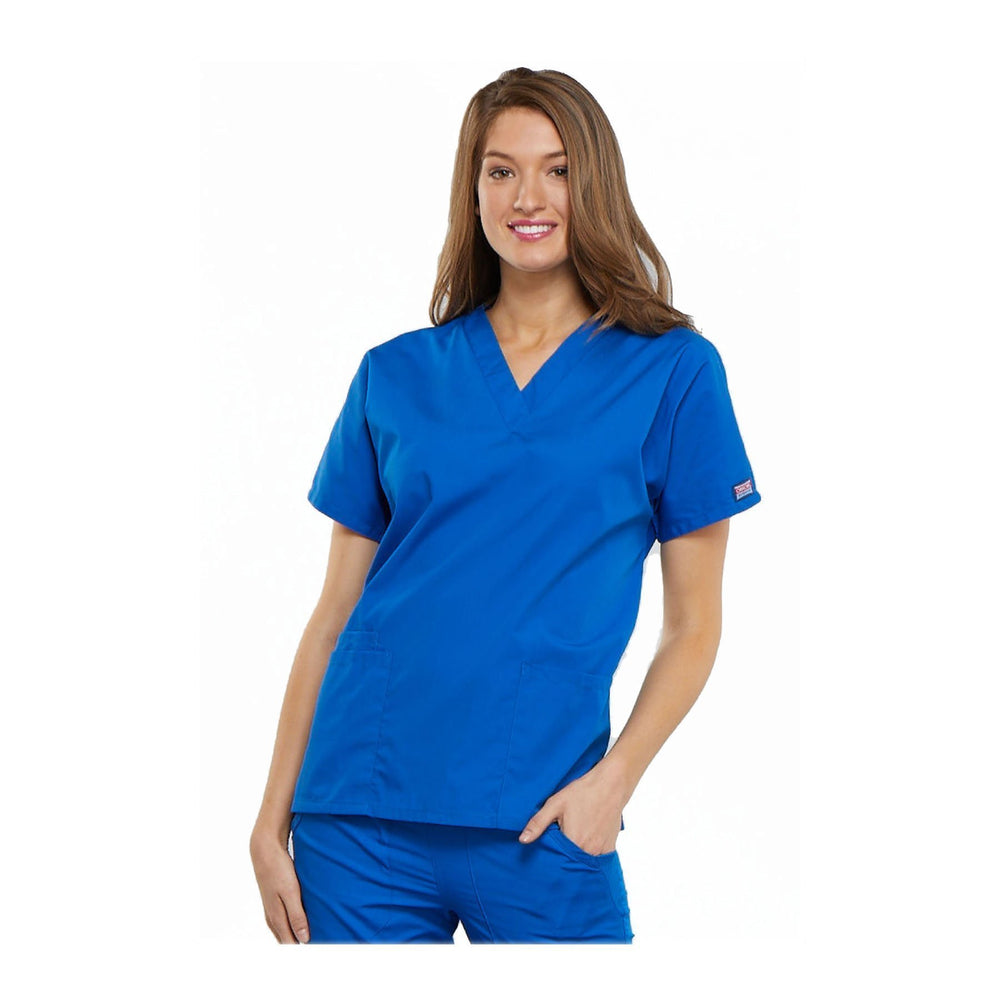 Cherokee Scrubs Workwear 4700 WW Top Traditional Classic Royal Top