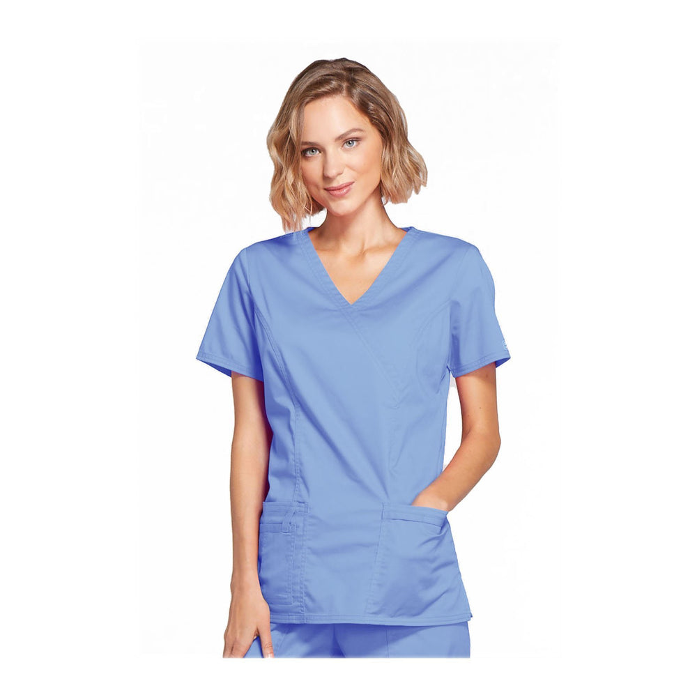 Cherokee Scrubs Workwear 4728 WW Core Stretch Top Modern Classic Ciel Top