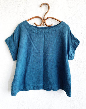 Cut Loose Linen Top