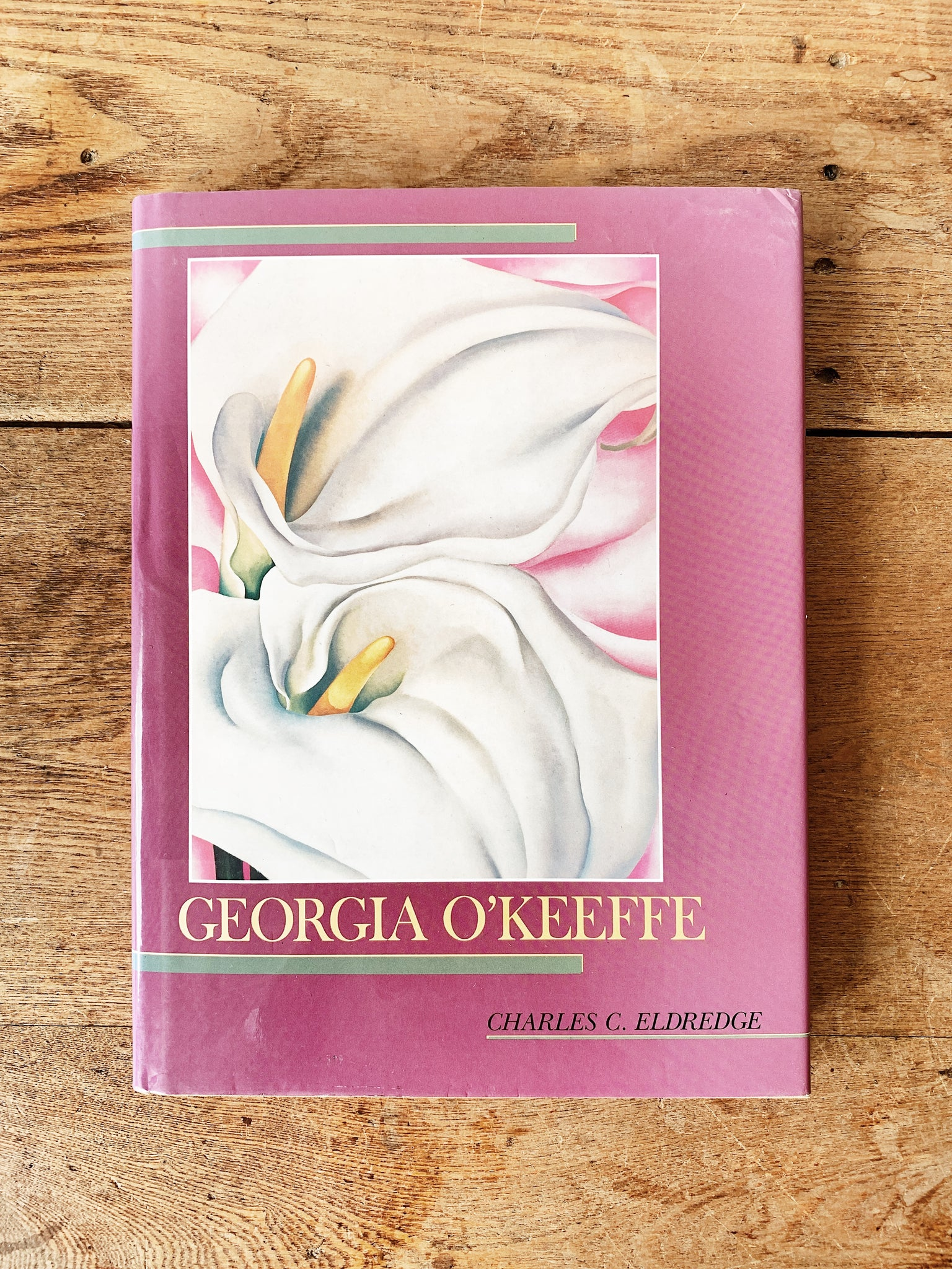 Vintage Georgia O'keeffe Hard Bound Art Book