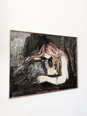 Framed Edvard Munch Print