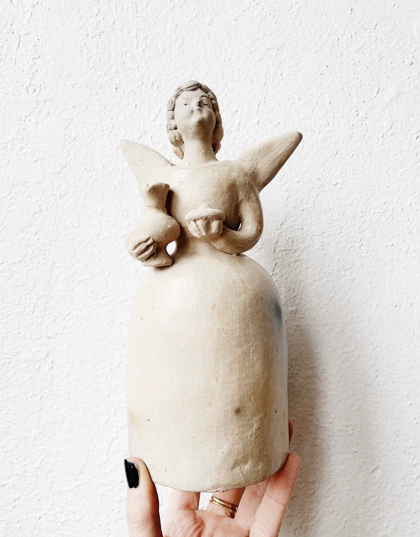 Vintage Clay Angel