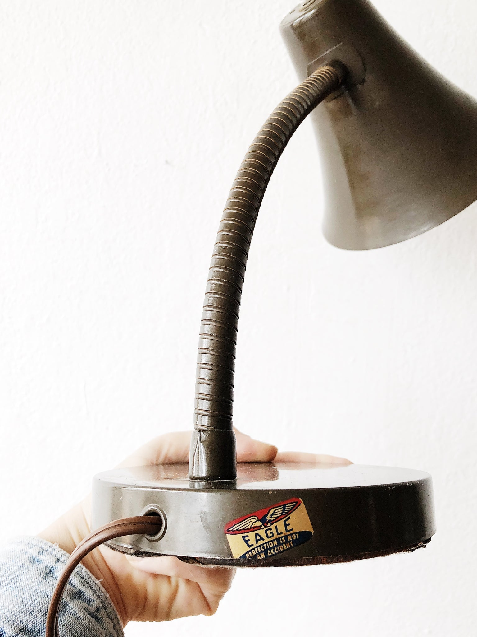 Vintage Eagle Industrial Lamp