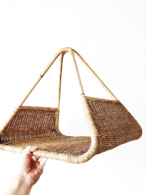 Vintage Triangular Basket