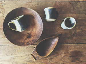 Beautiful Vintage Wood Dishes