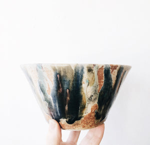 Vintage Marbled Planter