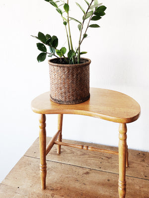 Vintage Kidney Shaped Stool