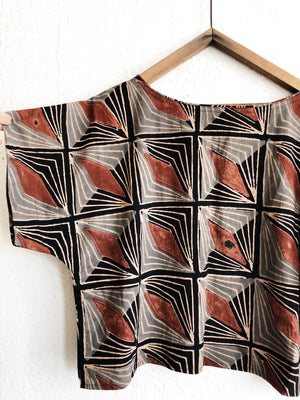 Block Printed Top