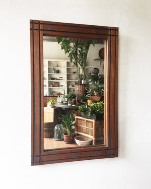 Handsome Vintage Mirror
