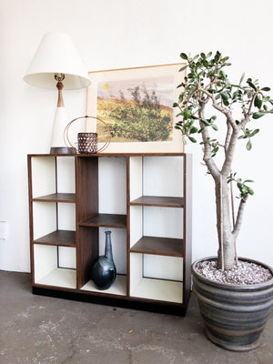 Mid Century Room Dividing Shelf