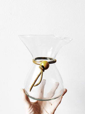 Vintage Blown Chemex Style Coffee Decanter