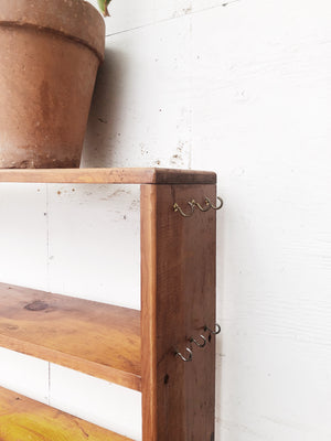 Vintage Handmade Pantry Shelf