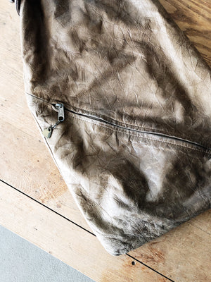 Vintage Distressed Leather Backpack