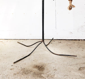Giant Hand Forged Vintage Iron Hanger