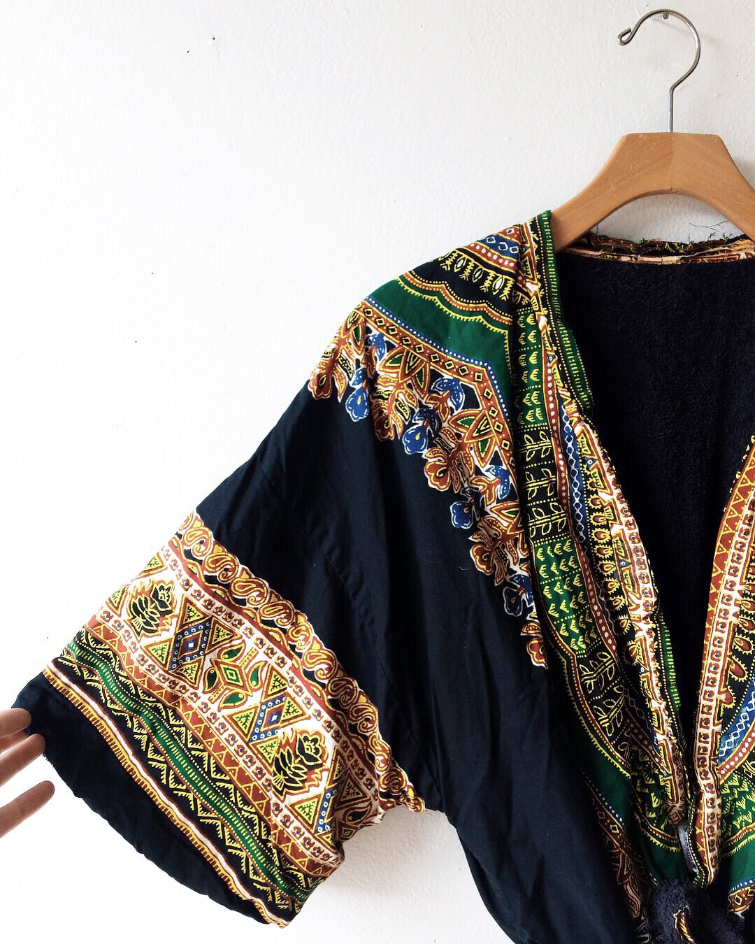 Vintage Terry Lined Robe