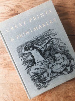 Great Prints & Printmakers Vintage Art Book