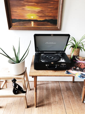 Electrohome Suitcase Record Player